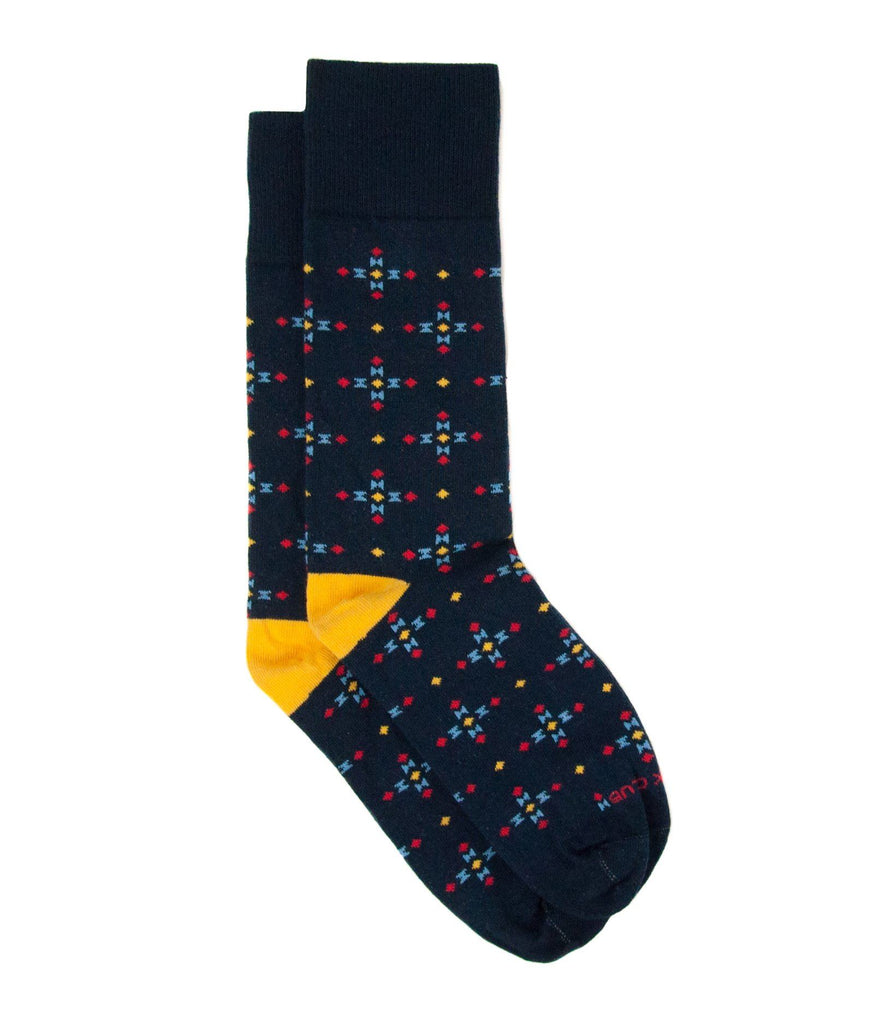 Sock - The Azimuth - Navy