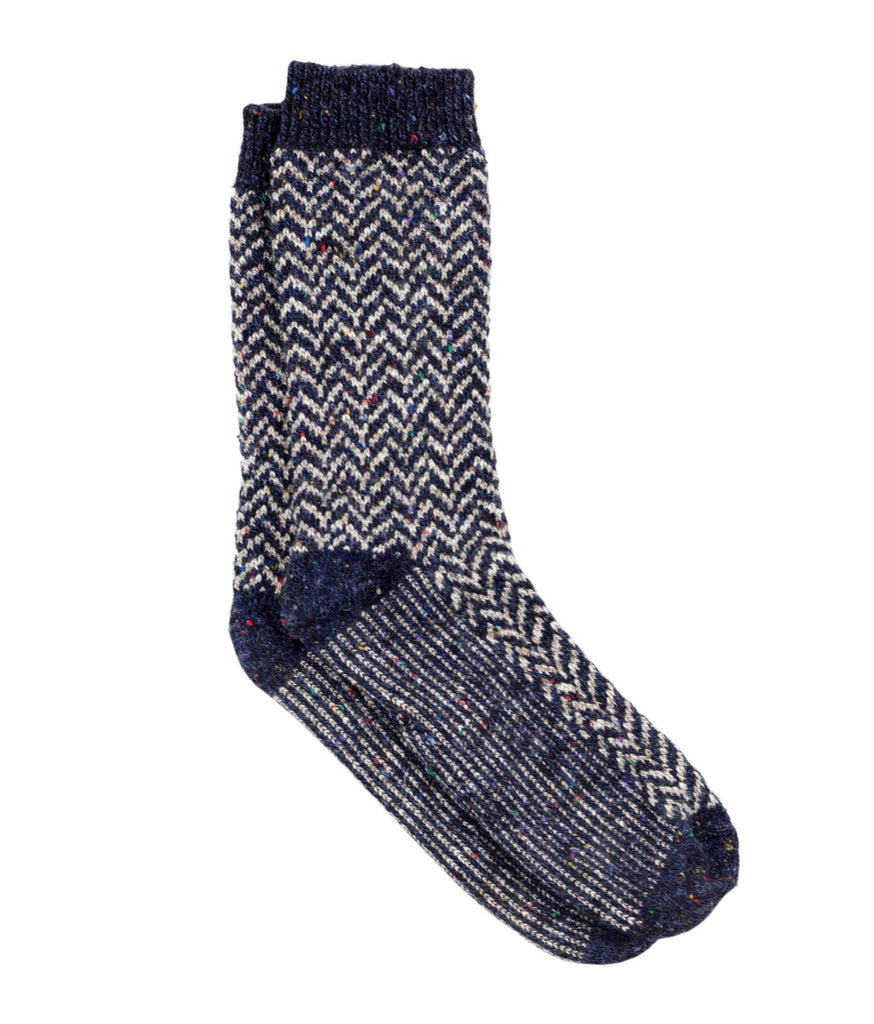 The Camp Sock - Navy - Sock Club Store
