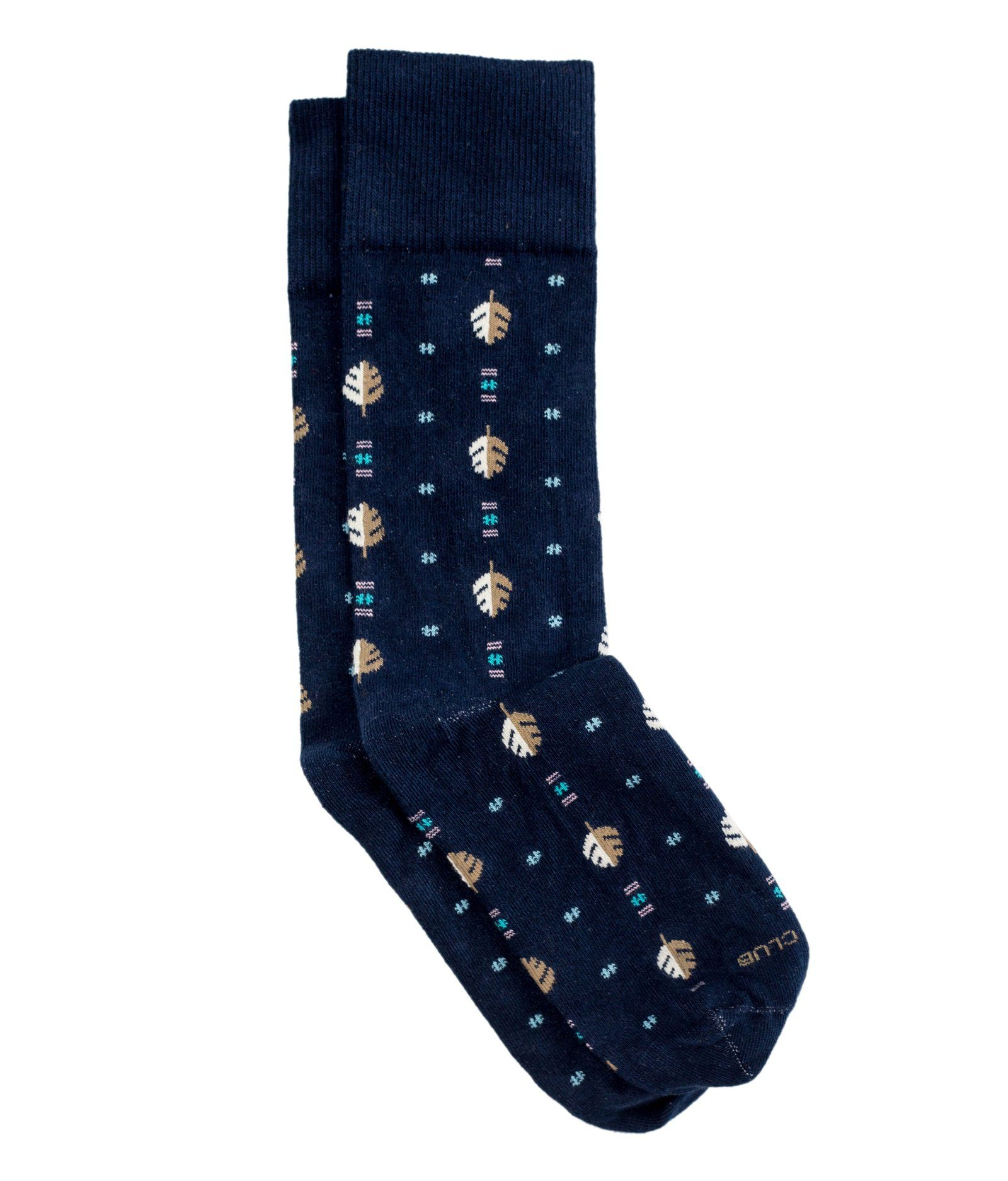 The Conifer - Navy - Sock Club Store