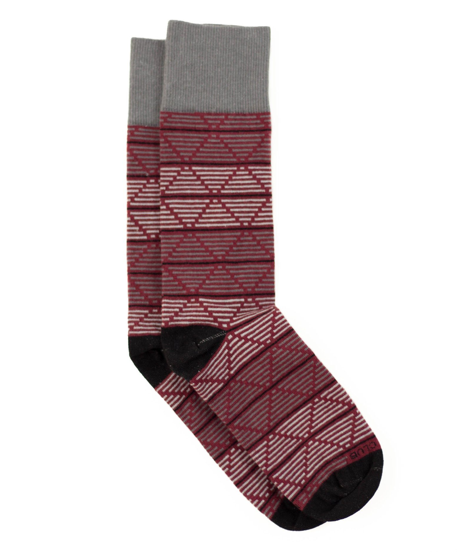The Daedalus - Maroon - Sock Club Store