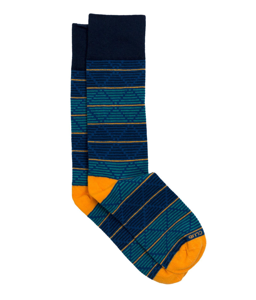 The Daedalus - Navy - Sock Club Store