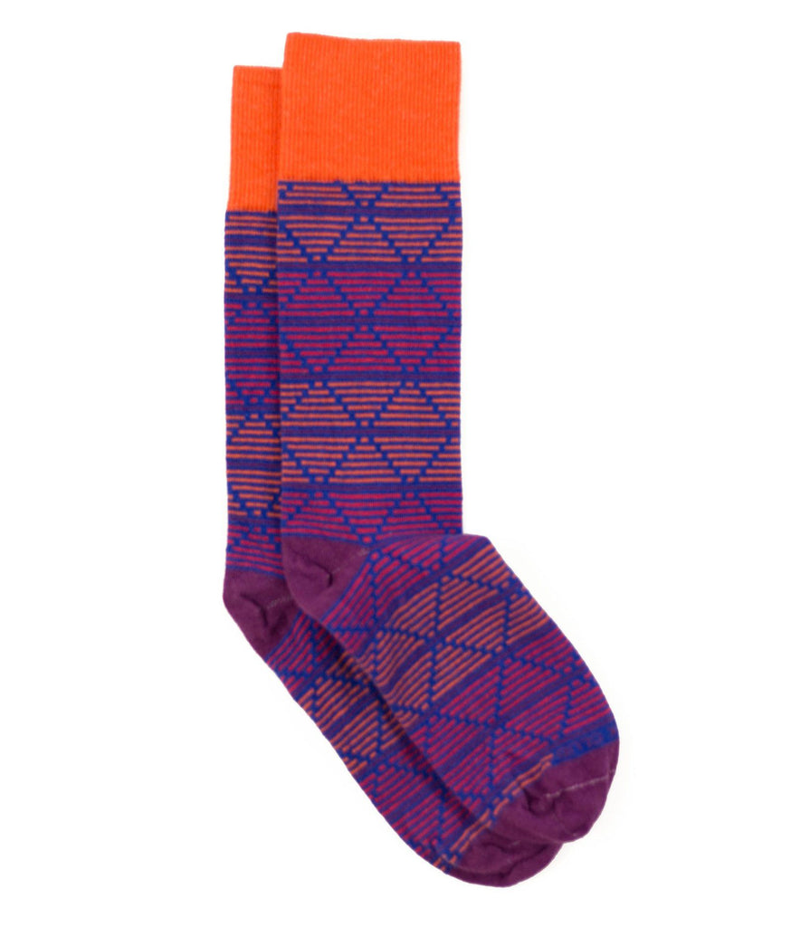 The Daedalus - Purple - Sock Club Store