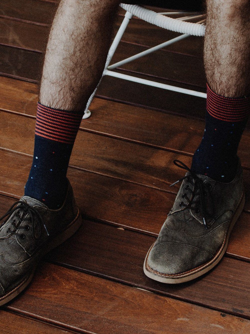 The Electorate - Navy - Sock Club Store