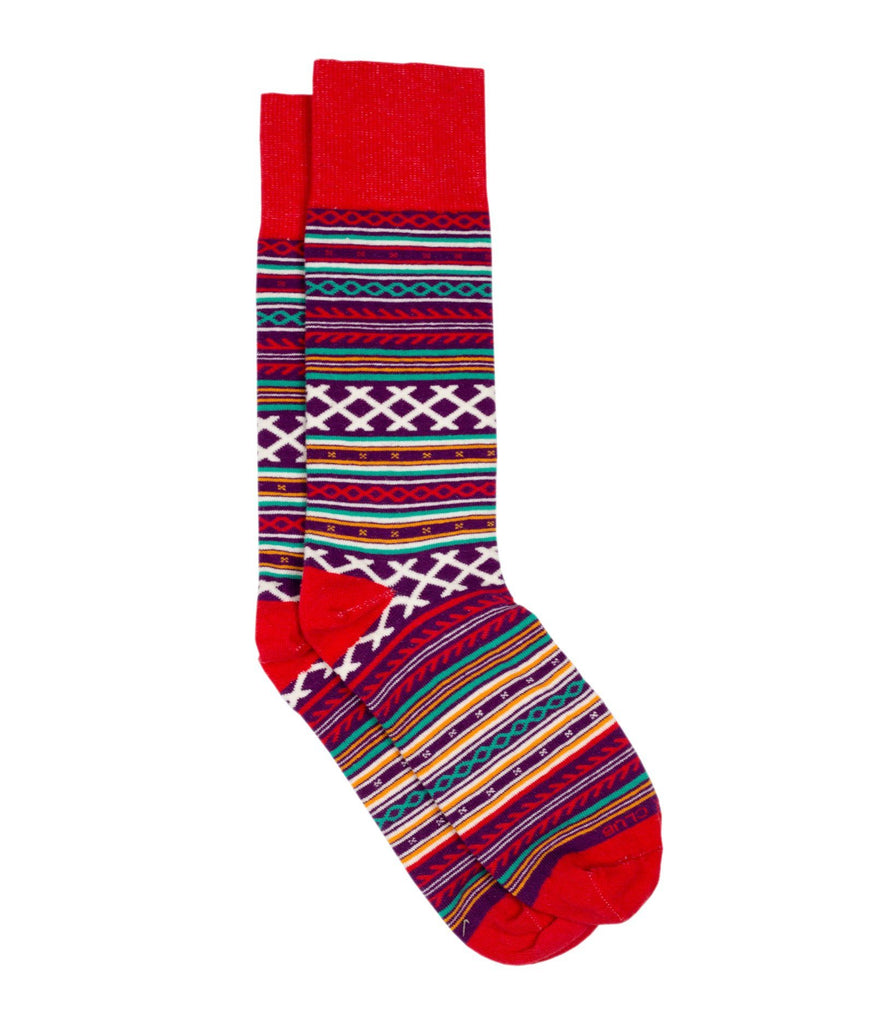 The Fika - Red - Sock Club Store