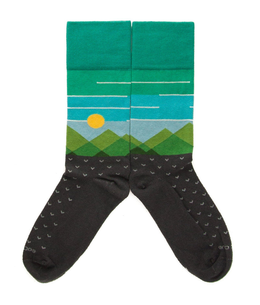 The Frontier - Onyx - Sock Club Store