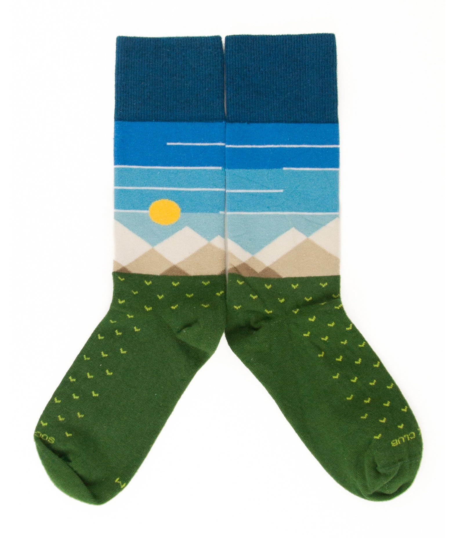 The Frontier - Pine - Sock Club Store