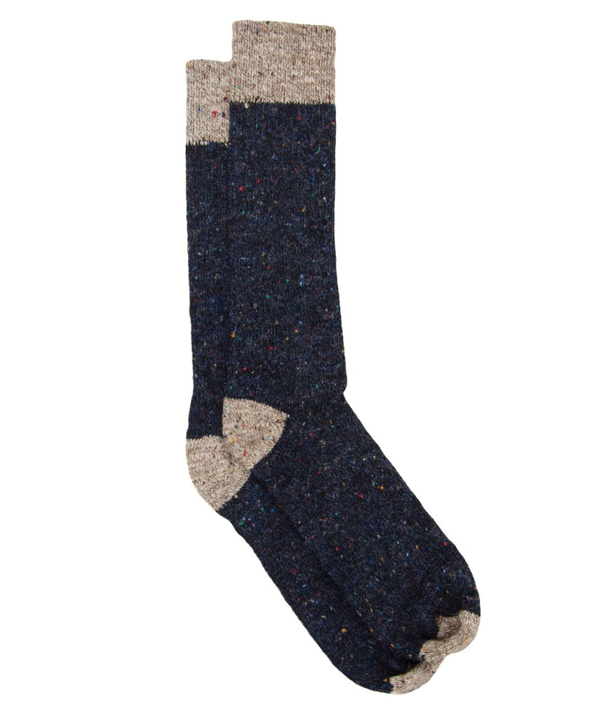 The Highlander - Navy - Sock Club Store