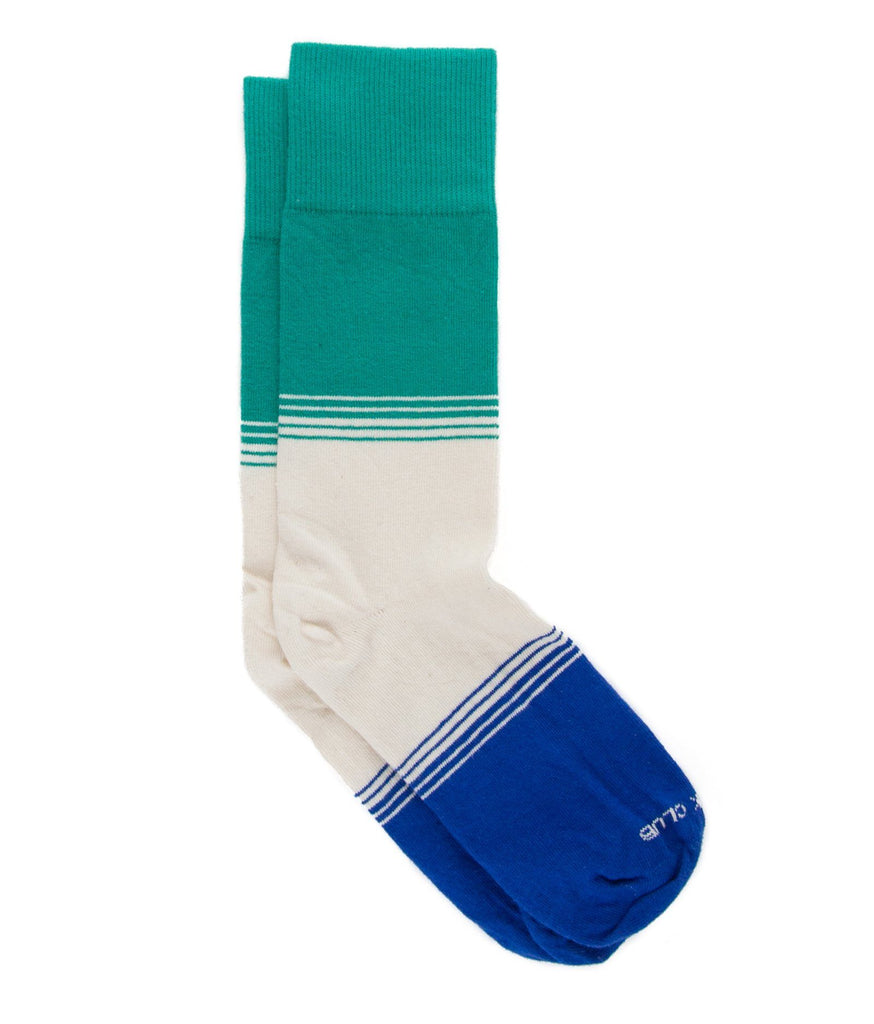 The Leo - Teal - Sock Club Store