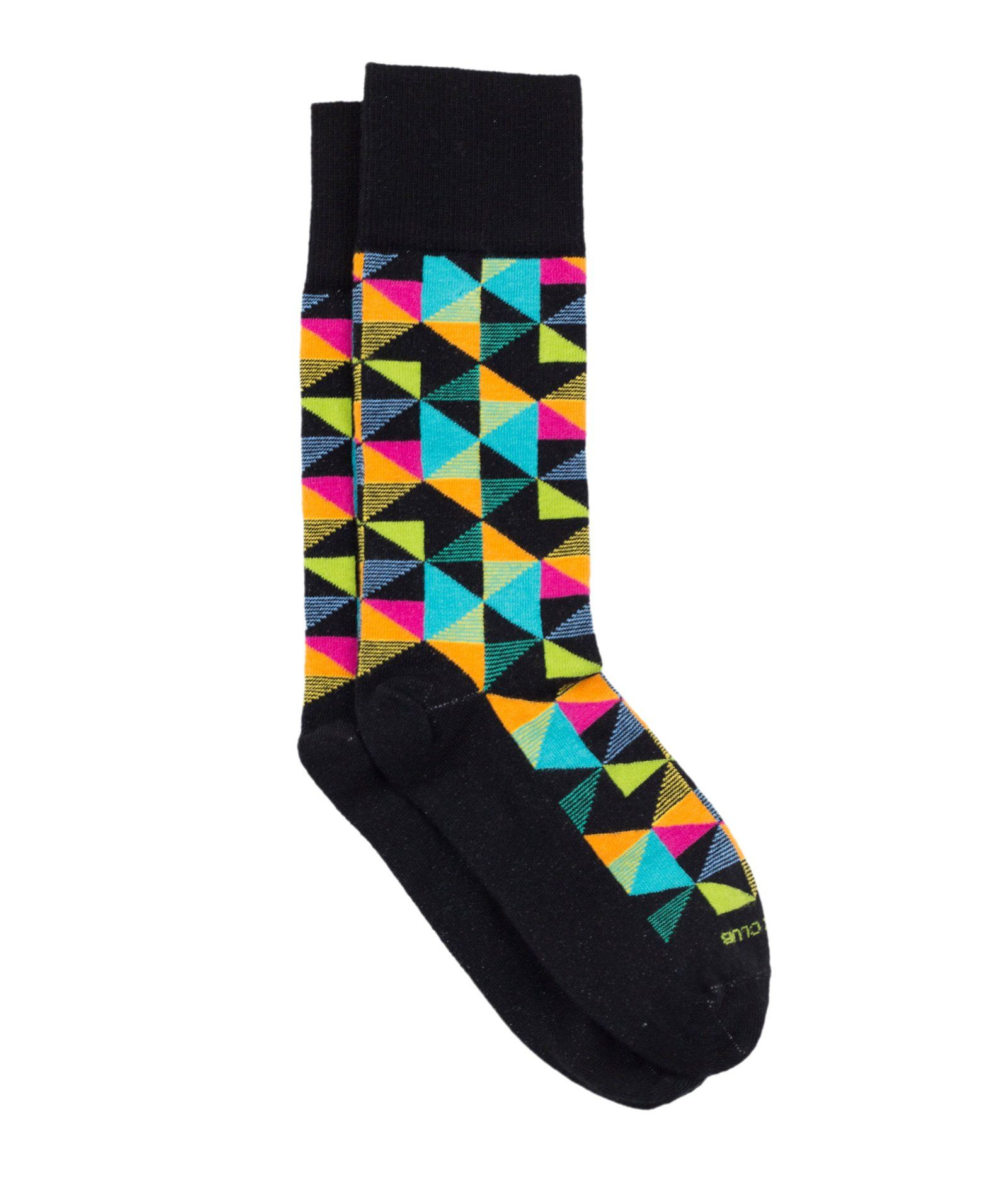 The Pinwheel - Black - Sock Club Store
