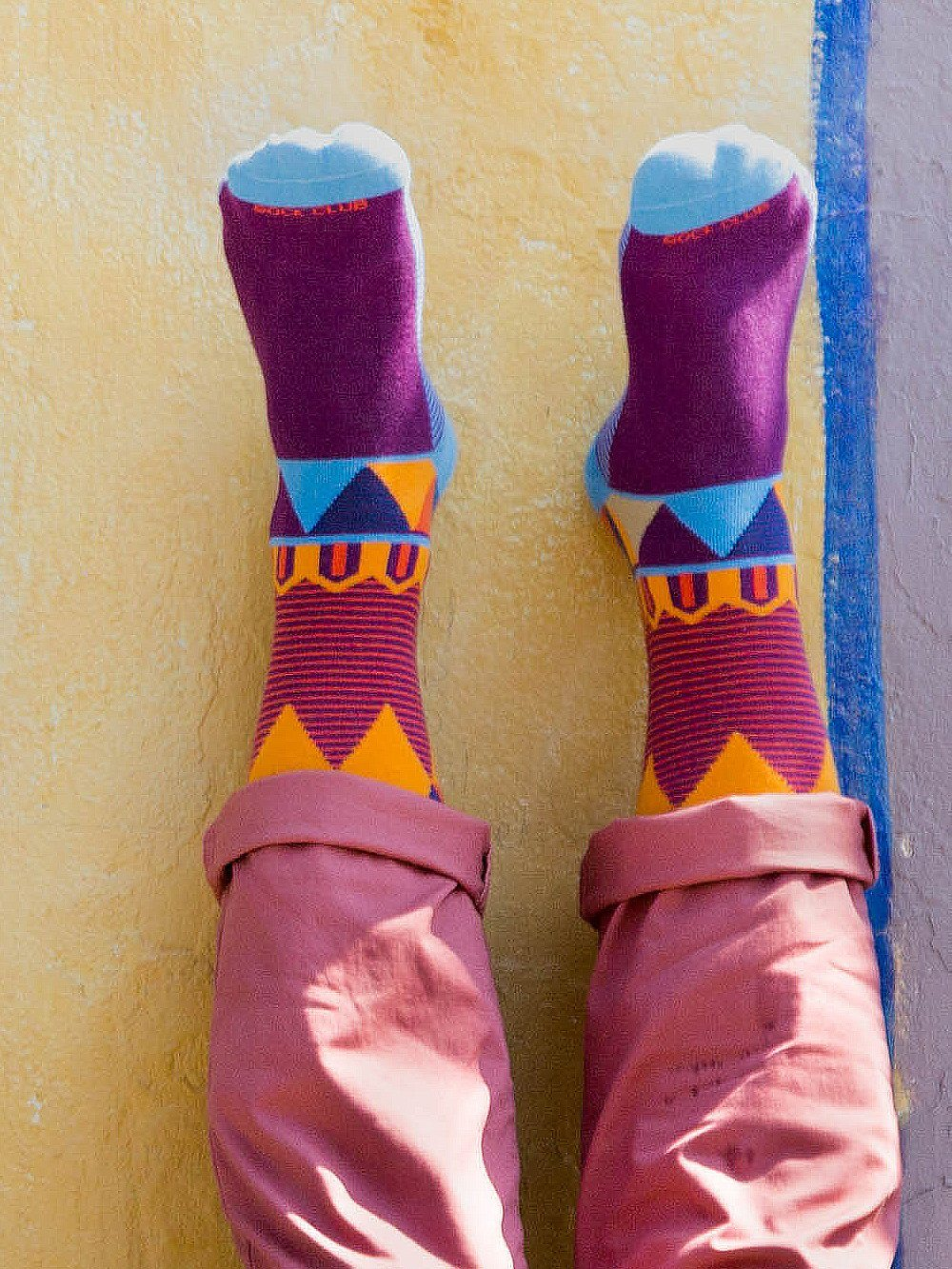The Ringmaster - Purple - Sock Club Store