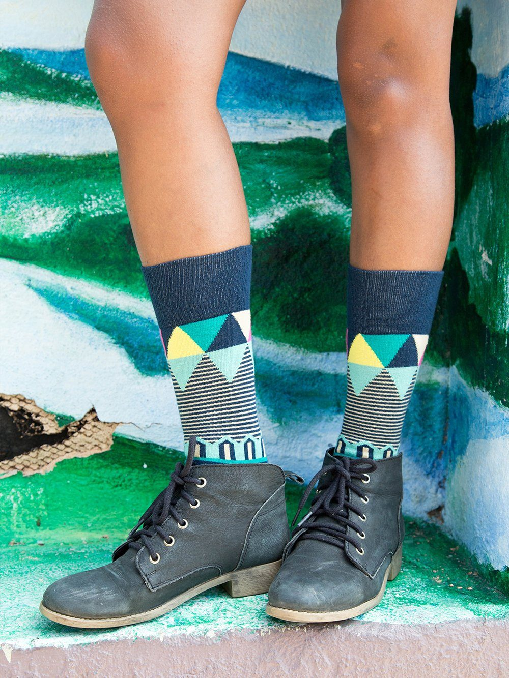The Ringmaster - Teal - Sock Club Store