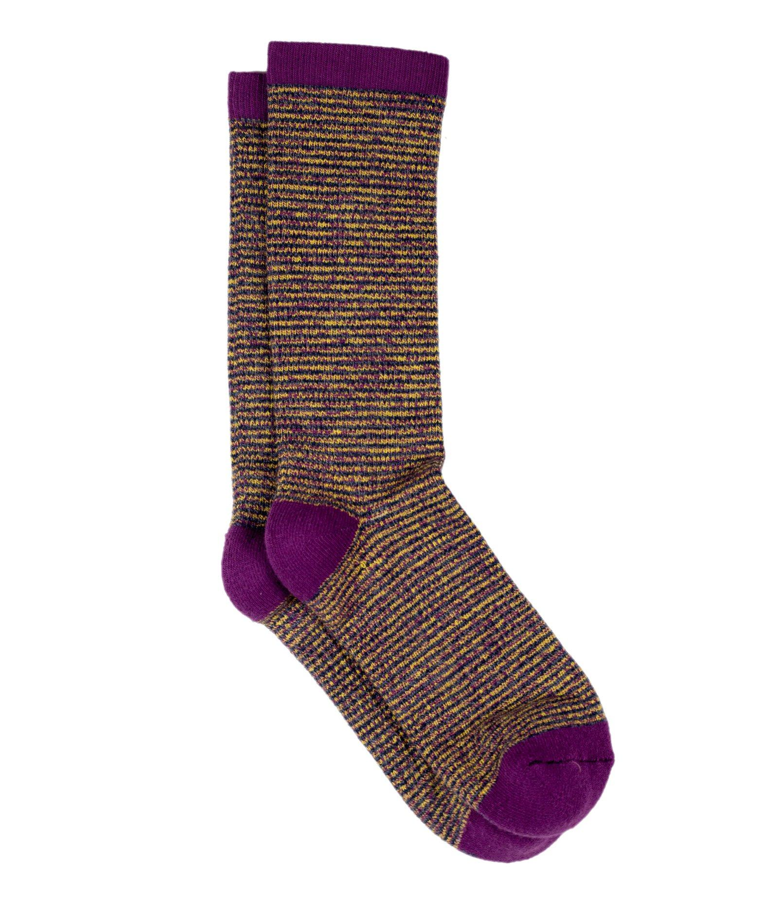 The Rosalind - Purple - Sock Club Store