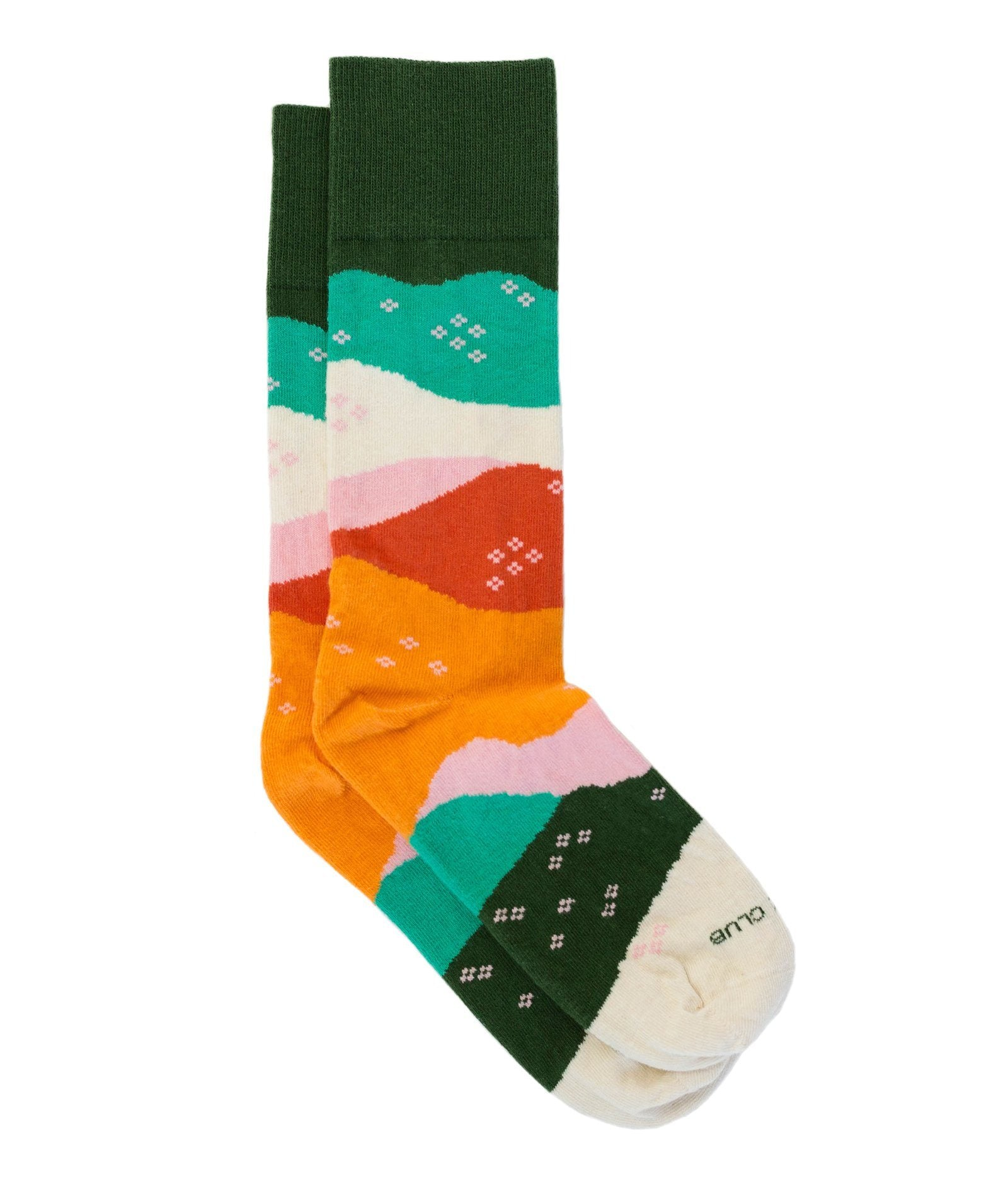 The Vista - Clementine - Sock Club Store