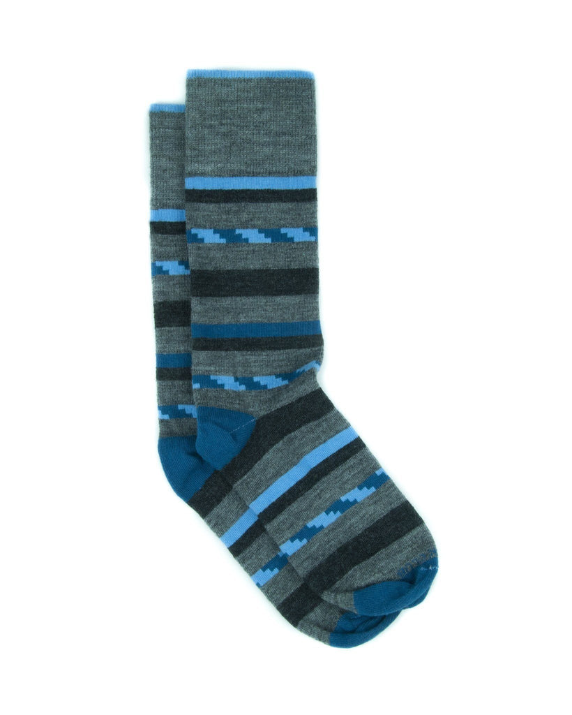The Wool Lustre - Blue - Sock Club Store