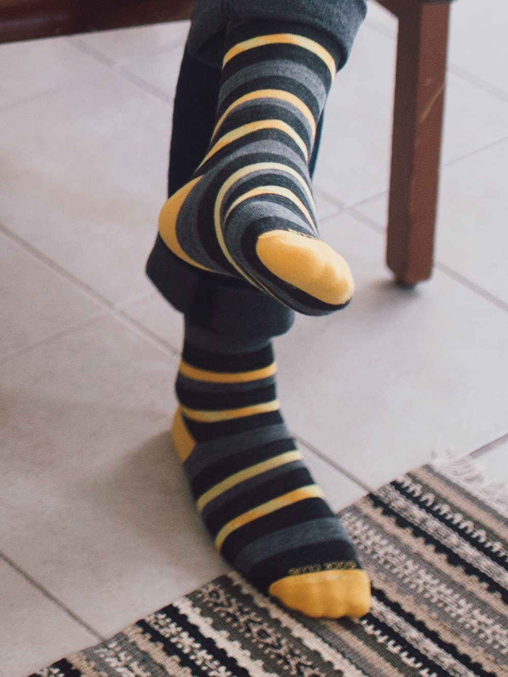 The Wool Lustre - Sunflower - Sock Club Store