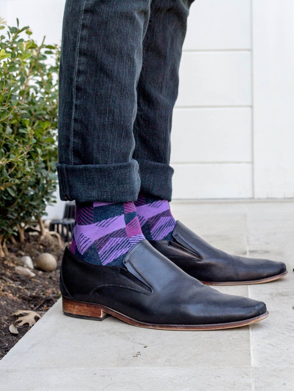 The Thisbe - Purple - Sock Club Store