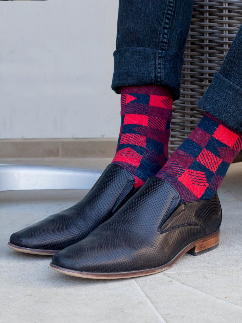 The Thisbe - Red - Sock Club Store