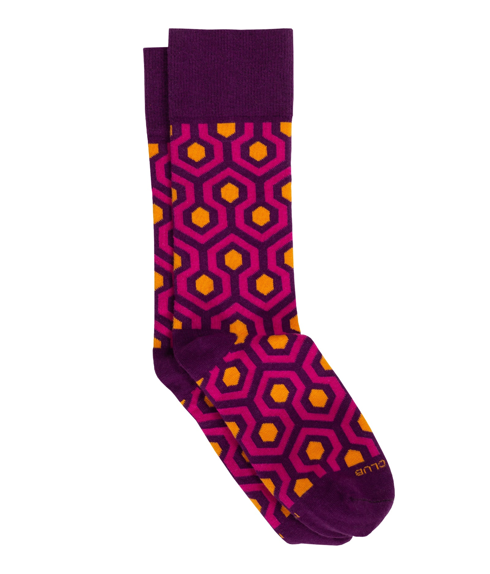 The Timberline - Deep Pink - Sock Club Store