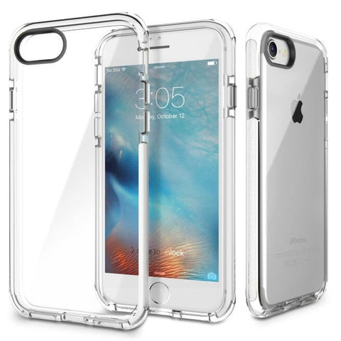 ROCK Anti-Knock Clear Case on the iPhone 7
