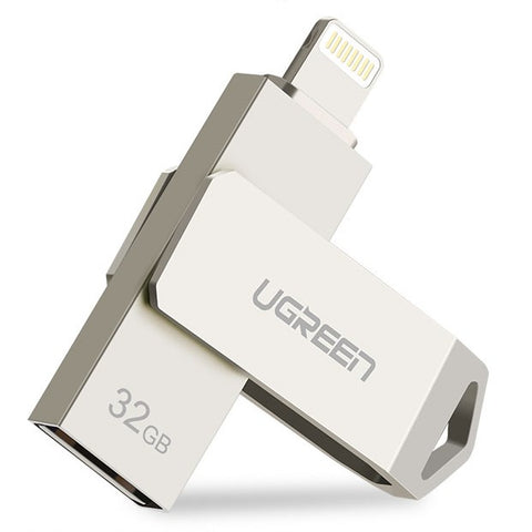 UGreen Lightning and USB OTG Flash Drive for iPhone - EDGENEO | The Leading Tech E-Commerce in Singapore