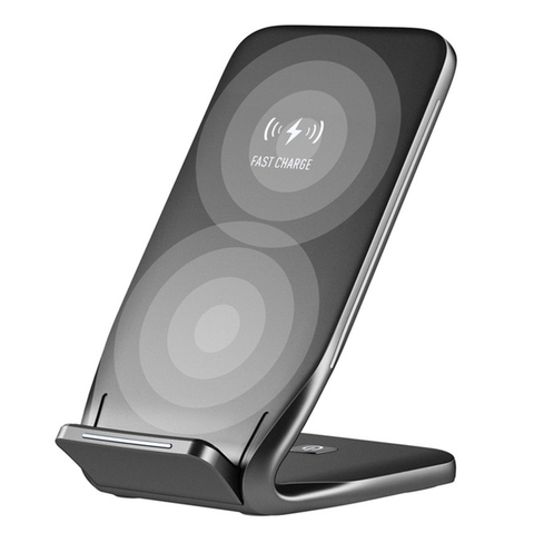 Qi Wireless Dual Coil Fast Charging Dock 10W - EDGENEO | The Leading Tech E-Commerce in Singapore