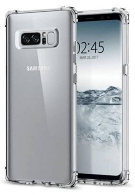 hot sale online 26738 d1e3d Heavy Anti-Knock Clear Case for Samsung Galaxy Note 8