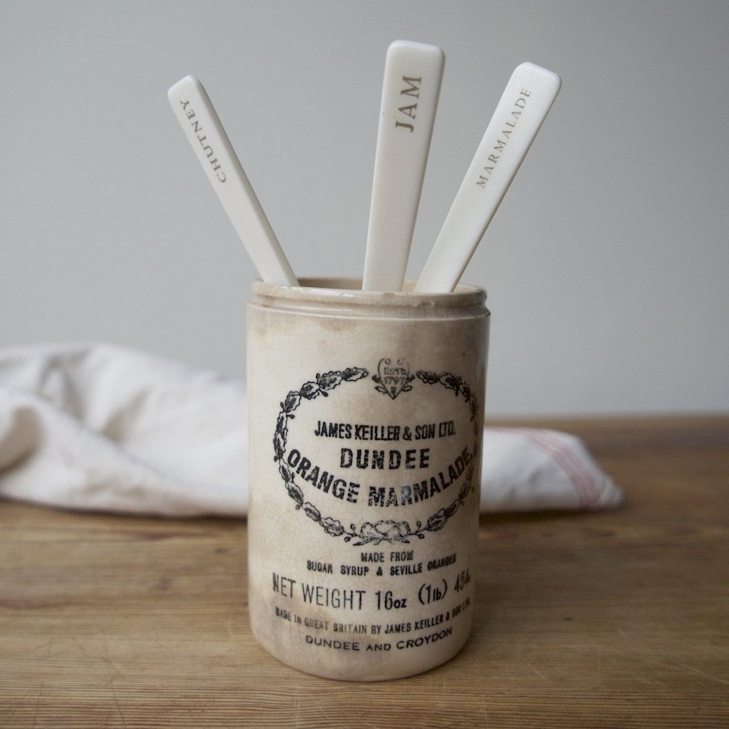 Bone Condiment Spoons