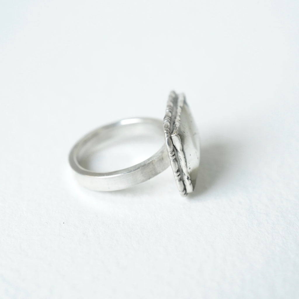Lover's Eye Silver Ring