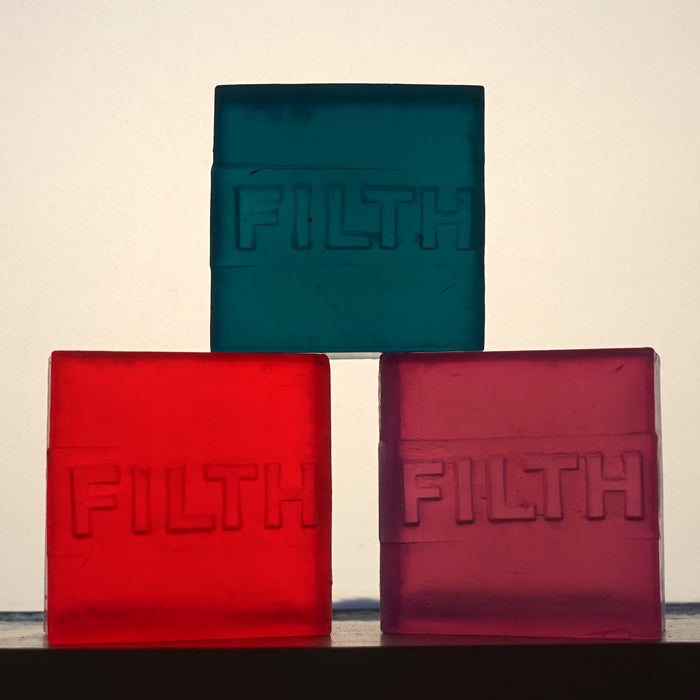 Filth Soap. Handmade.