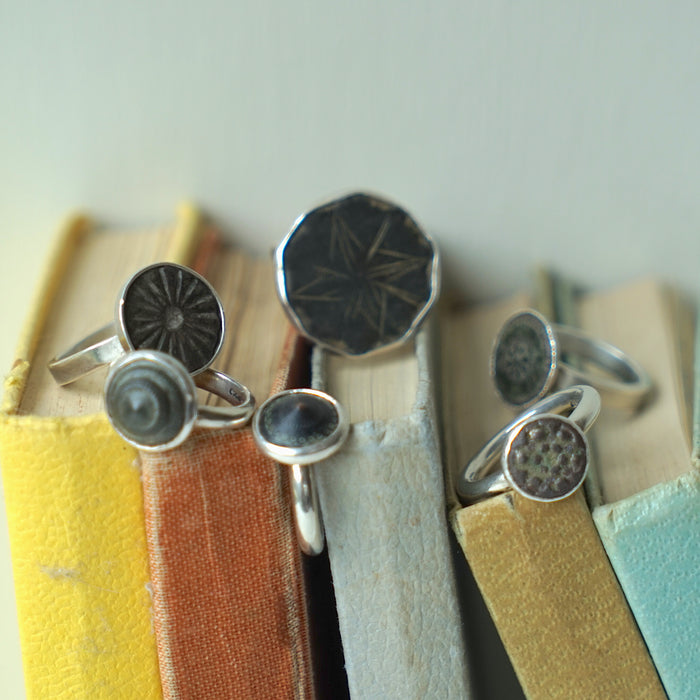 Medieval Bronze & Silver Rings