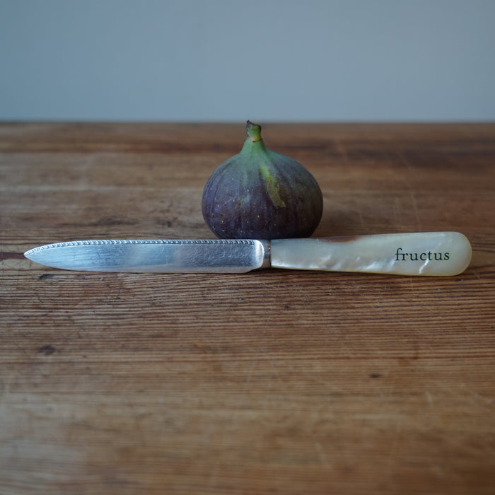 Antique Silver Fruit Knife
