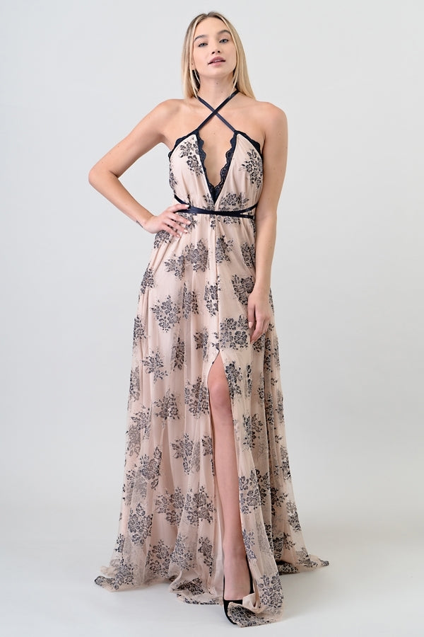 3 Way Lace Gown