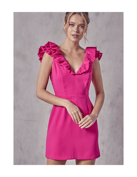 Ruffled Party Dress