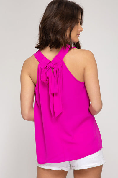 Ribbon Back Top