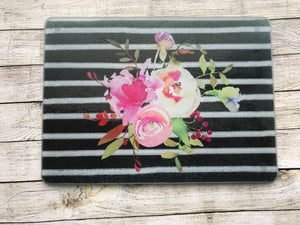 Floral Cutting Board