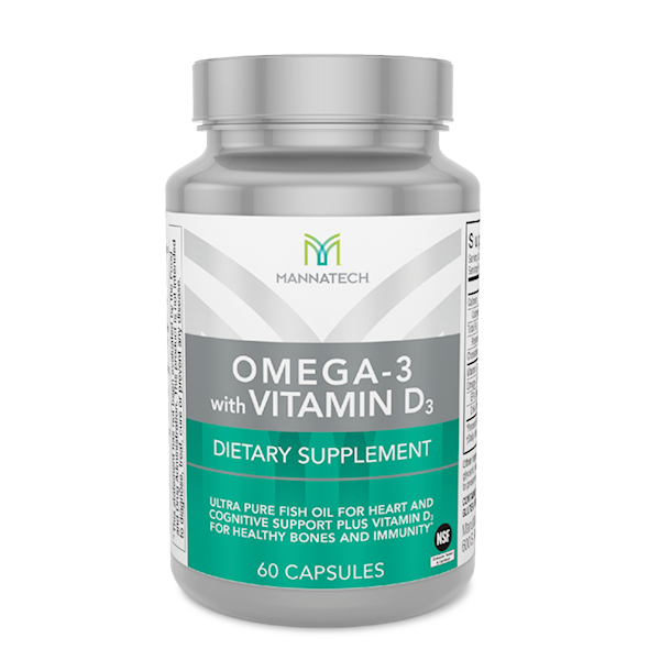 Omega 3 (60 Capsules) - Keep Your Heart, Brain and Bones Strong.
