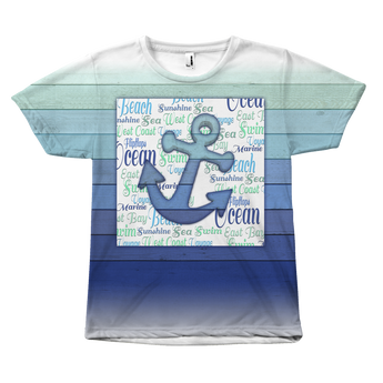 Ocean Lover's T-Shirts Collection | 4 Variants