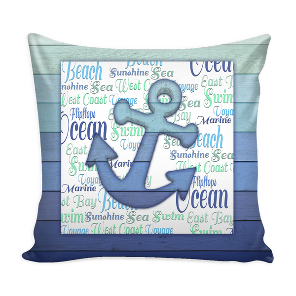 Ocean Art Pillow Cases | 4 Variants
