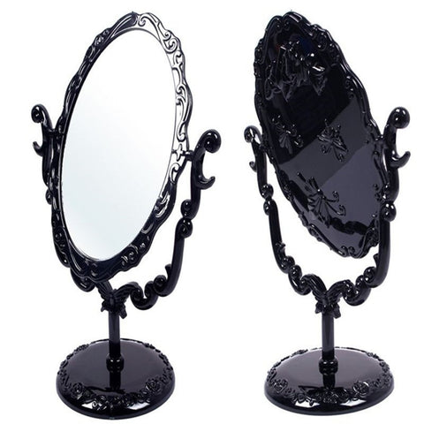 Black Heart Vintage Gothic Mirror