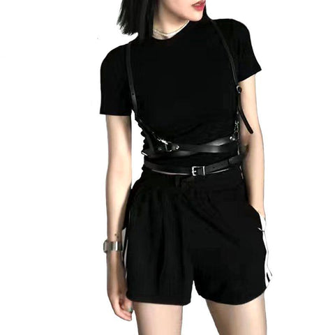 Punk Waist Strap Harness