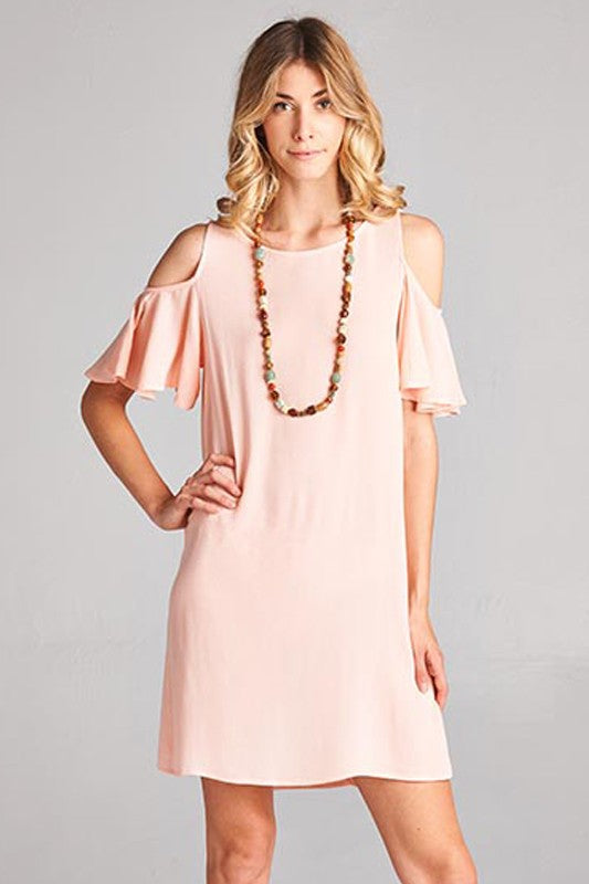Emma Cold Shoulder Dress