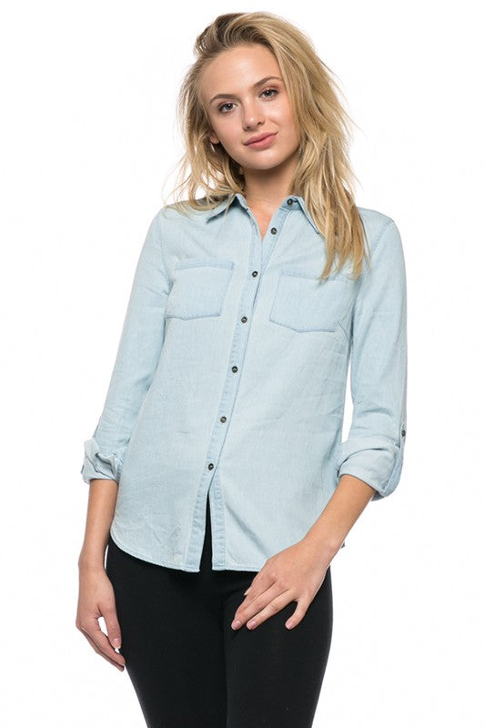 Your Fav Chambray Top