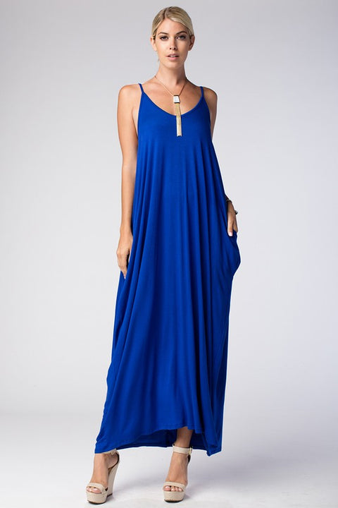Miesha Maxi Dress with Pockets (Additional colors available)