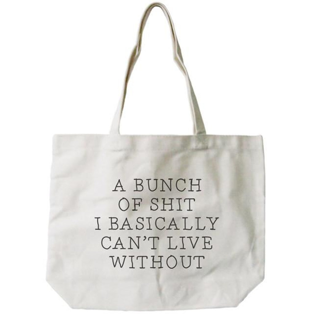 Can't Live Without Canvas Tote Bag