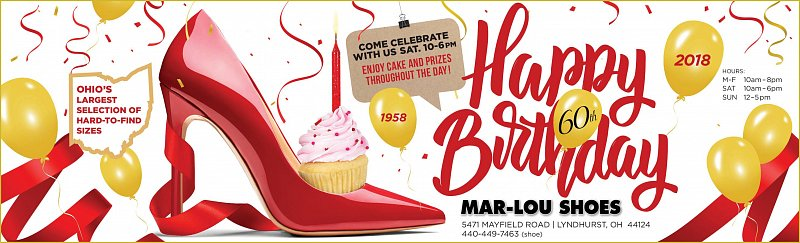 Happy Birthday Mar-Lou Shoes!