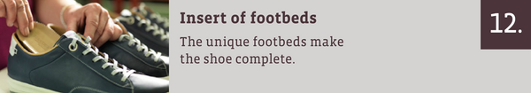 Insert of footbeds: The unique footbeds make the shoe complete.