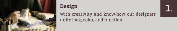 Design: With creativity and know-how, our designers unite look, color, and function.