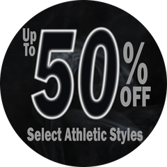 Up To 50% Off Select Athletic Styles