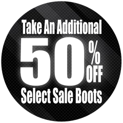 Additional 50% Off Select Sale Boots