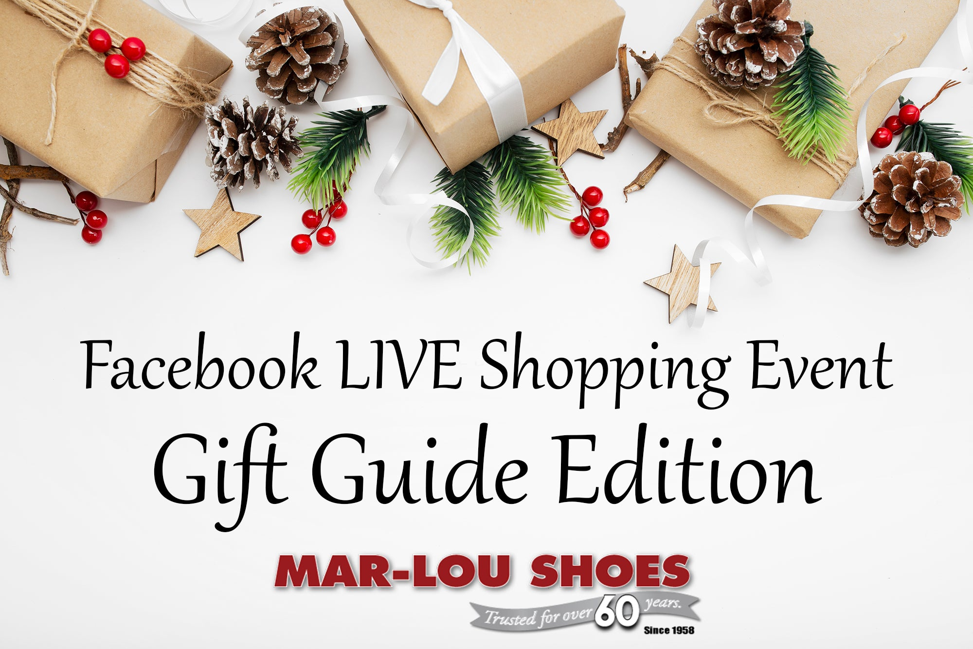 Facebook LIVE Shopping Gift Guide Edition